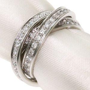 Cartier Diamond Trinity 18KT White Gold Ring